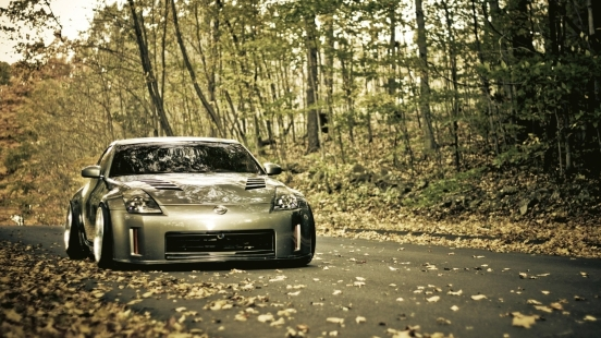 trees_cars_leaves_roads_vehicles_nissan_350z_1920x1080_wallpaper_Wallpaper_1920x1080_www.wallpaperbeautiful.com